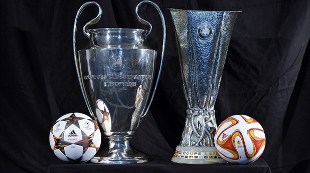 Резултат с изображение за Шампионска лига и лига европа