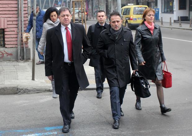 министърът на отбраната николай ненчев и зам.-председателят на нс иван иванов