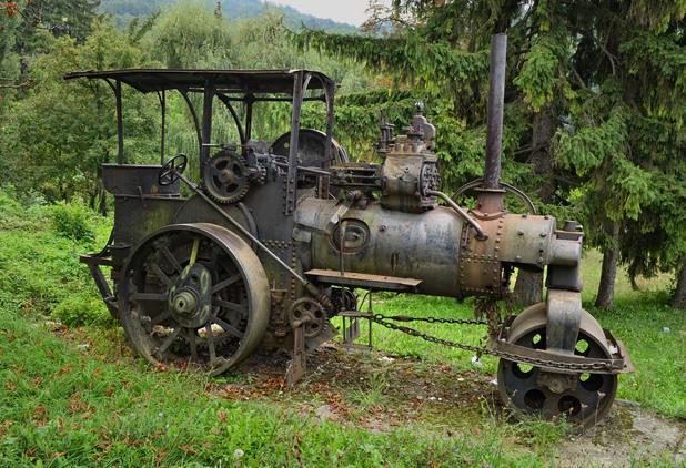 2 ръждиви машини