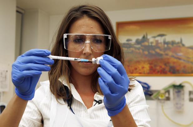 ваксина срещу ебола