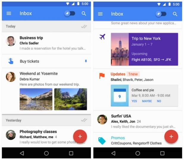 Приложения на 2015 - Inbox