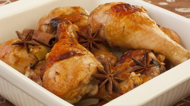 пиле с канела