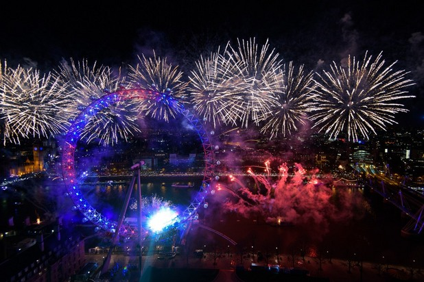 нова година, 2016, лондон