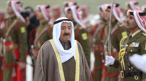 Шейхът на Кувейт