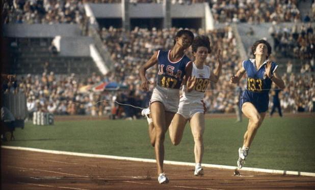 уилма рудолф, лека атлетика, олмпиада, рим 1960