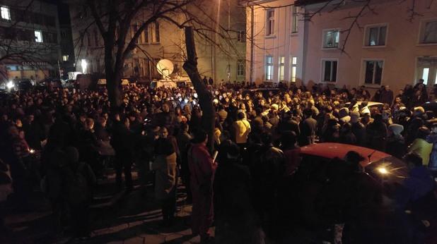 враца - мълчалив протест заради убийството на тодор йорданов