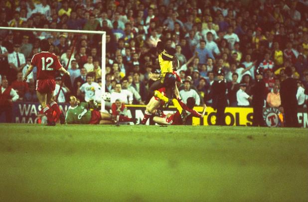 Ливърпул - Арсенал, 1989