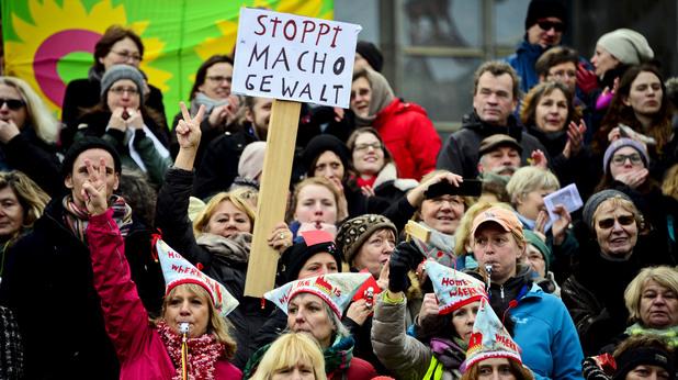 Протест в Кьолн