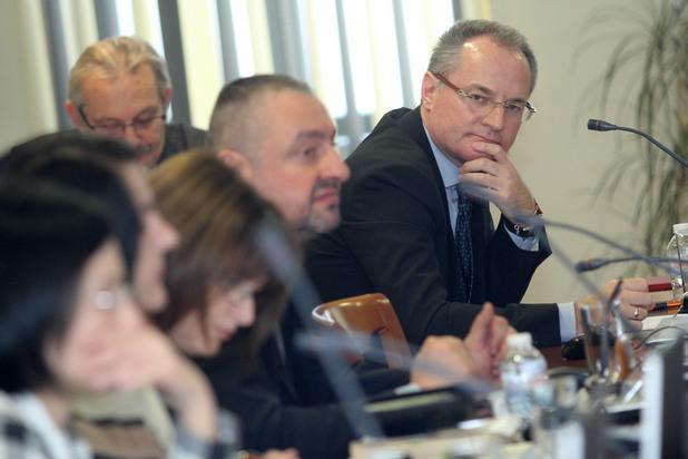 лозан панов по време на заседание на всс