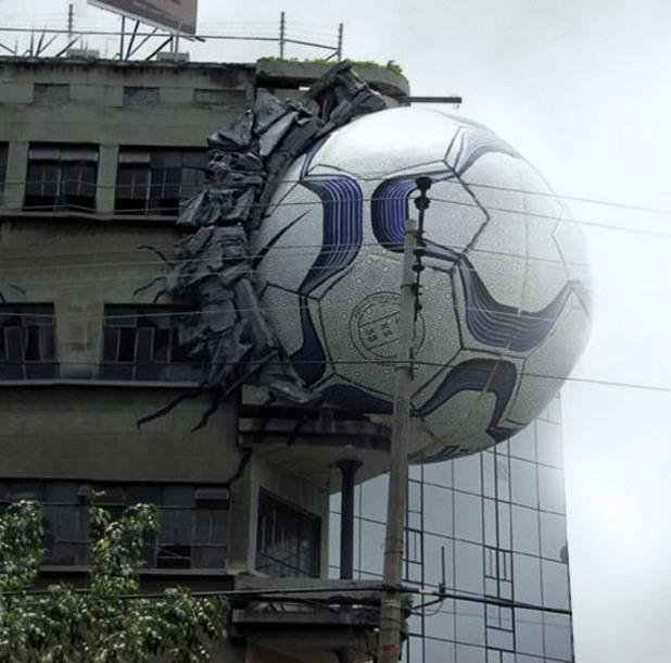 футбол, реклама