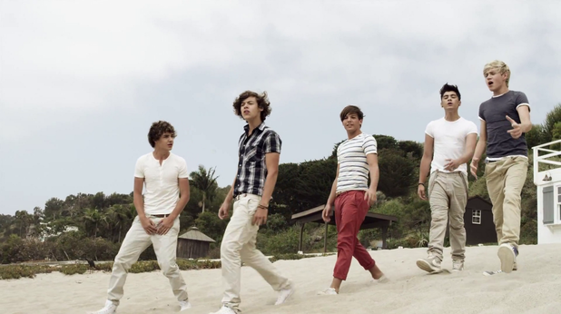 What Makes You Beautiful на One Direction
