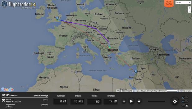 полет ba149
