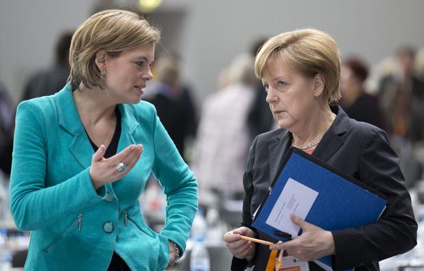 Юлия Кльокнер, новата Меркел, ХДС