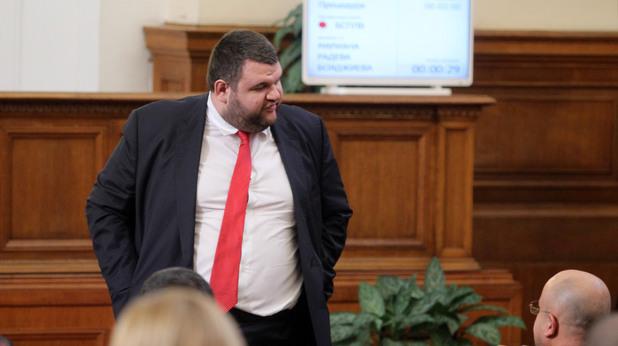 Делян Пеевски в Народното събрание