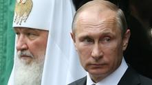 руският патриарх кирил и владимир путин