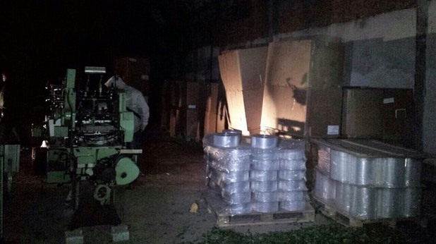 Нелегална фабрика за цигари е разкрита в Луковит