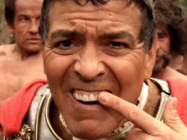 джордж клуни в аве, цезаре