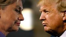 доналд тръмп, хилъри клинтън
