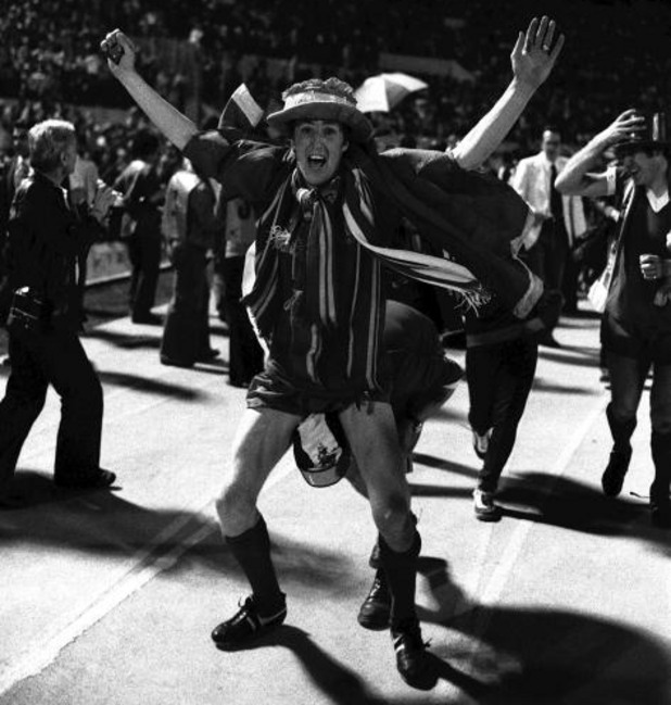 Джоуи Джоунс, Ливърпул 3:1 Мьонхенгладбах, финал за КЕШ 1977 г.