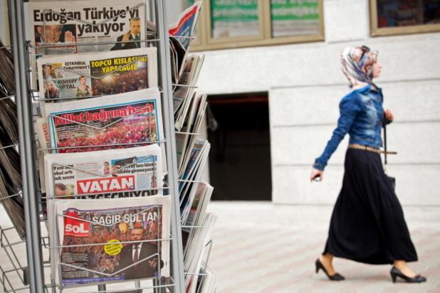 вестници в Турция
