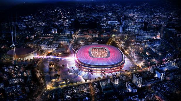 барселона, камп ноу, нов стадион