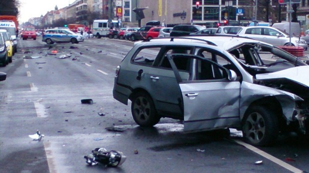 Взрив на кола-бомба разтърси Берлин