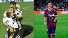 деца на футболисти, имена