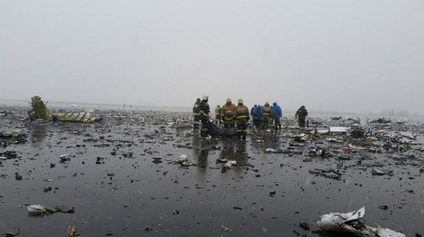 катастрофата на boeing 737 край ростов на дон