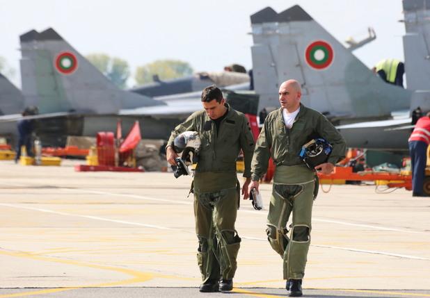 български пилоти, ВВС