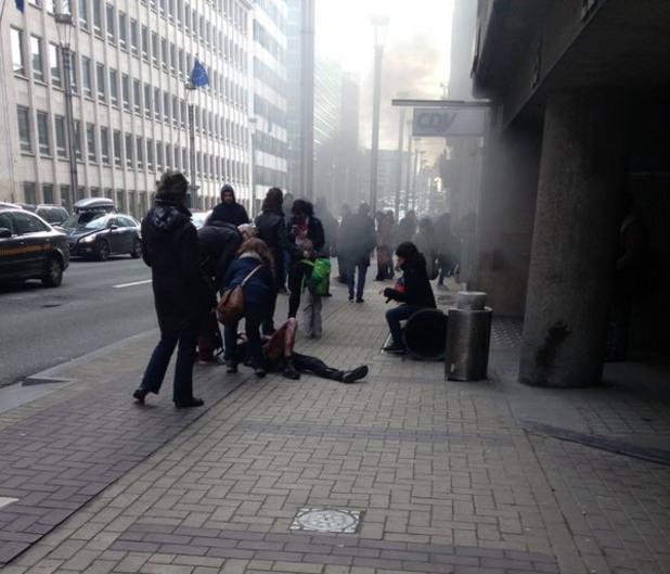 Експлозии в Брюксел