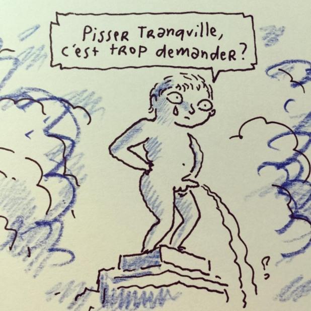Карикатури Брюксел