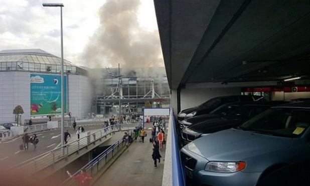 Взривове на летище Завентем в Брюксел