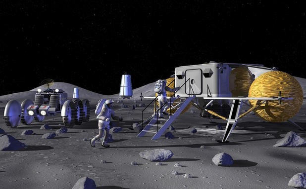 руска лунна база