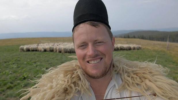 овчар, гита, румъния