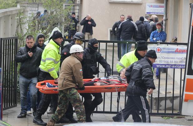 """Мъж се барикадира в столичния квартал """"Стрелбище"""""""