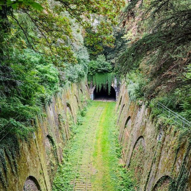 Неизползваем тунел в Париж, Франция