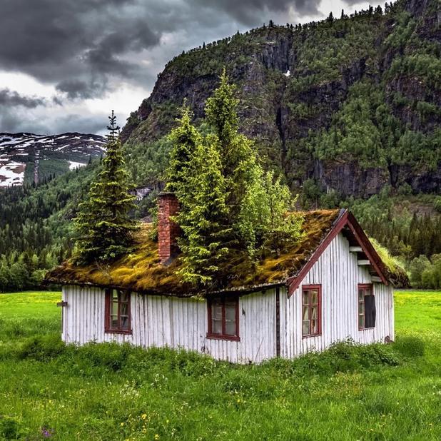 Къща на село, Норвегия