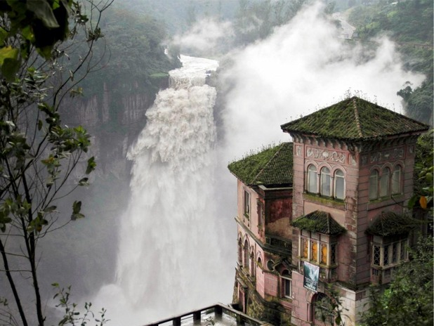 Затворилият завинаги врати хотел Дел Салто, Колумбия