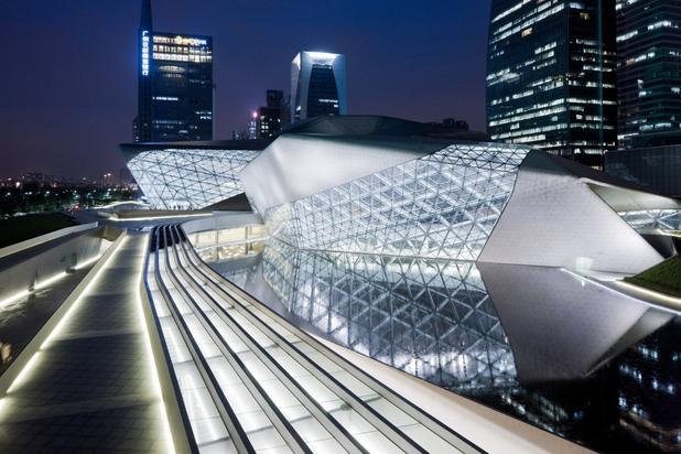 Операта в Гуанджоу, Китай