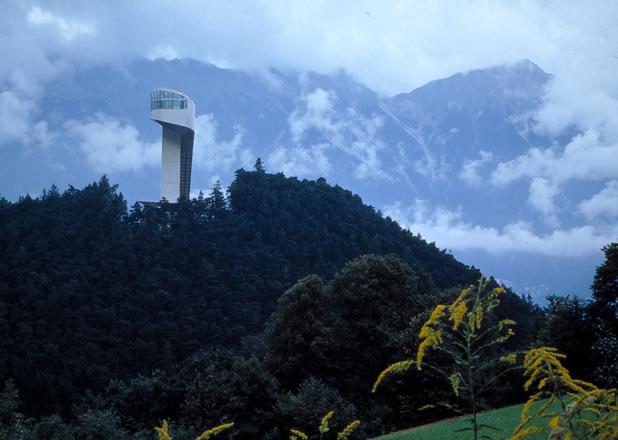 бергсел, съоръжение за ски скокове, инсбрук, австрия