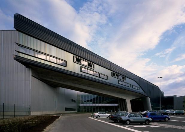 сграда на BMW в Лайпциг, Германия