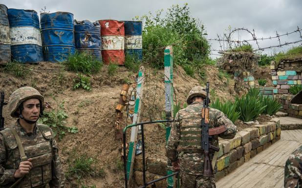 Фронтова линия, Нагорни Карабах