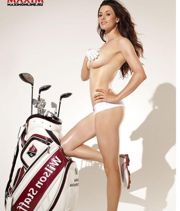 Мария Верченова, голф