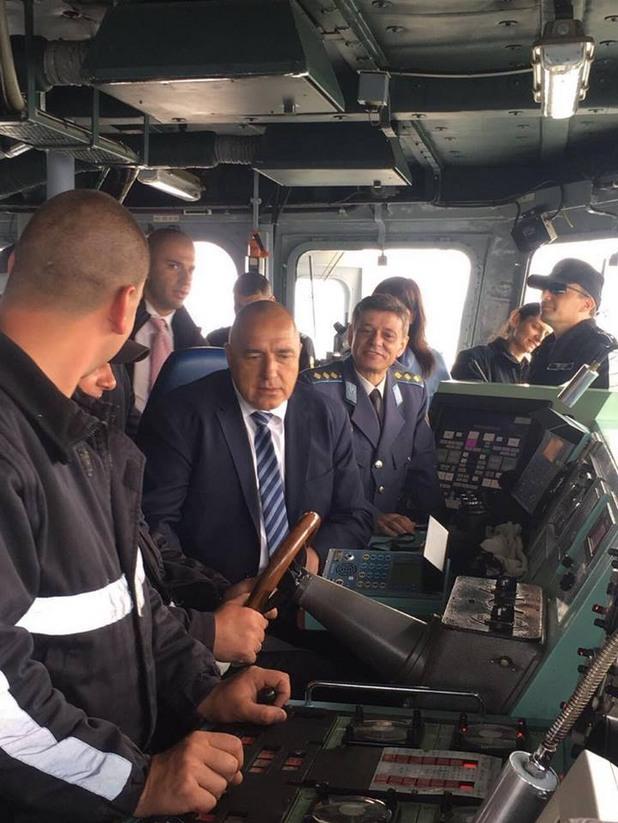 """Бойко Борисов, Съвместна тренировка на ВМС и """"Гранична полиция"""""""