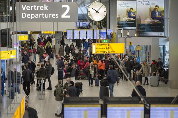 """Летище """"Схипхол"""" в Амстердам"""