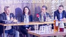 Георги Кузмов, главен секретар на MediaMixx, Аделина Гюзелева, Стефан Делайе, президент на MediaMixx, Асен Григоров, директор на Digital Media Conference на MediaMixx.