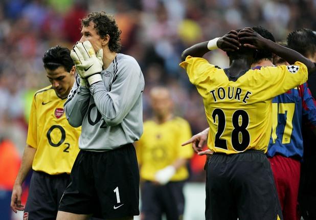 Арсенал - Барселона, 1:2, финал 2006 г.