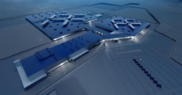 заводът на Faraday Future