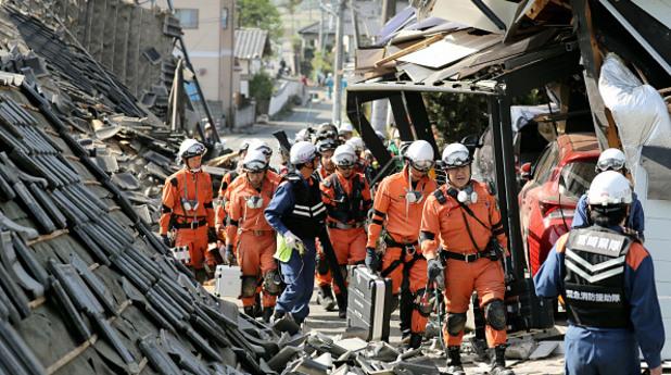 Десетки жертви след трус от 7.3 по Рихтер в Япония