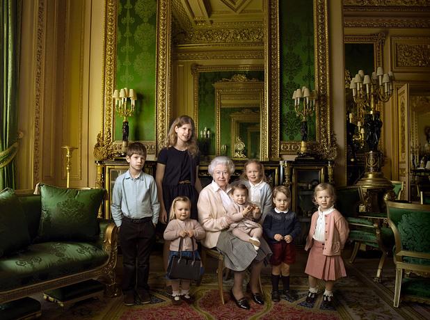 кралица елизабет на 90